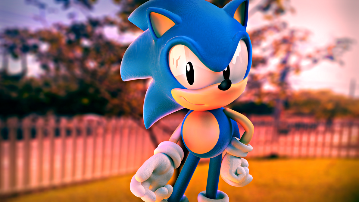 Classic Sonic the Hedgehog [50] by Light-Rock