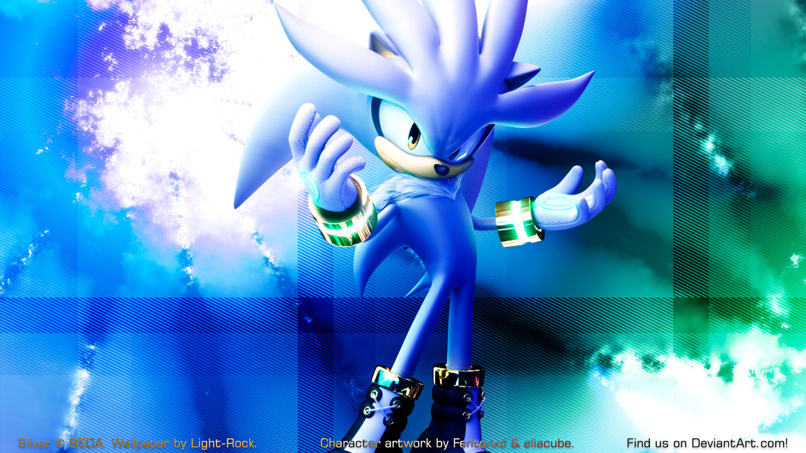Silver The Hedgehog Wallpapers By Light-Rock On DeviantArt