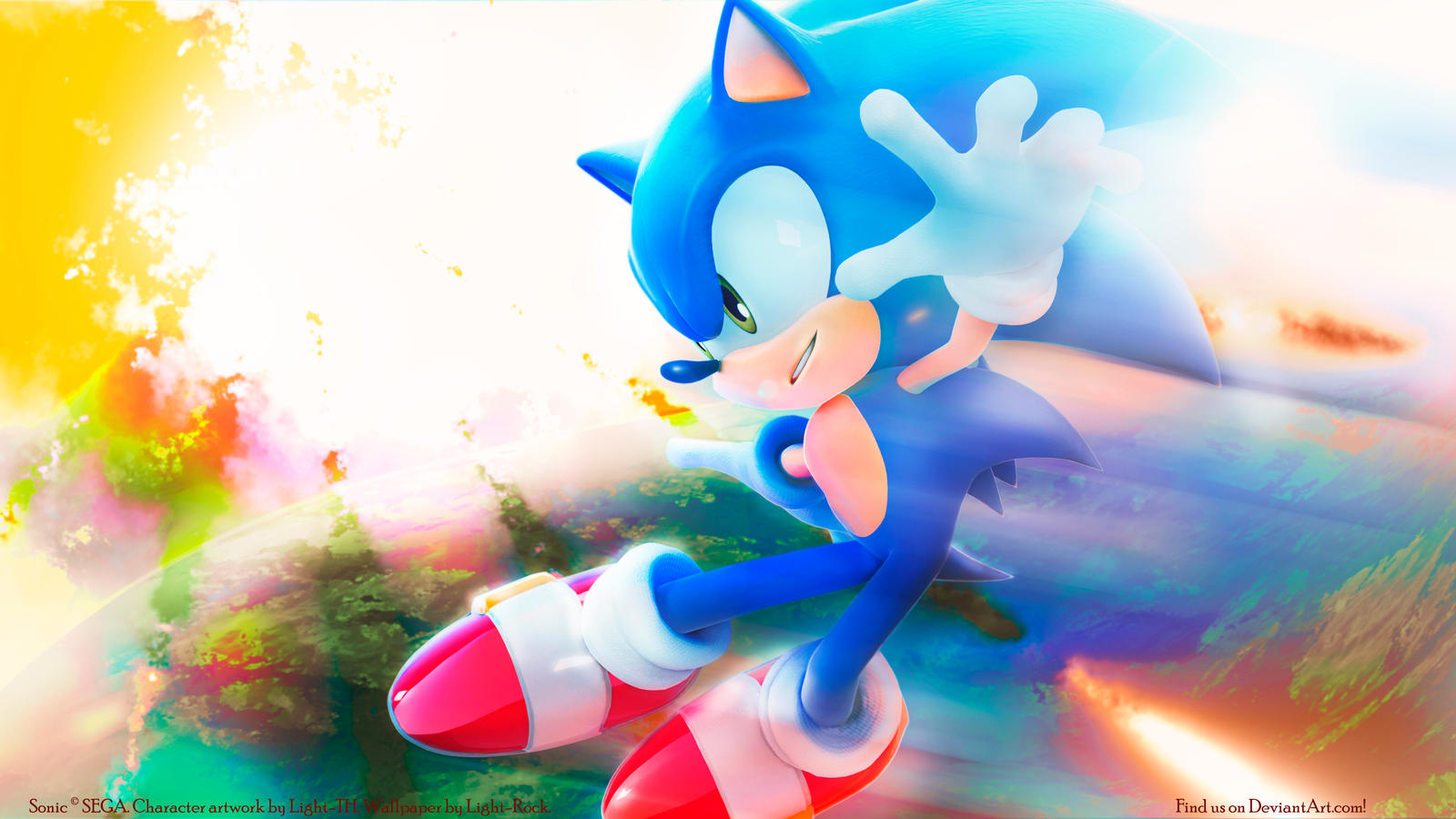 Sonic The Hedgehog Wallpapers By Light-Rock On DeviantArt