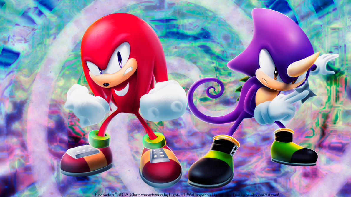 Knuckles and Espio [2015.1] by Light-Rock