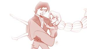 Rapunzel and Eugene, Together Forever