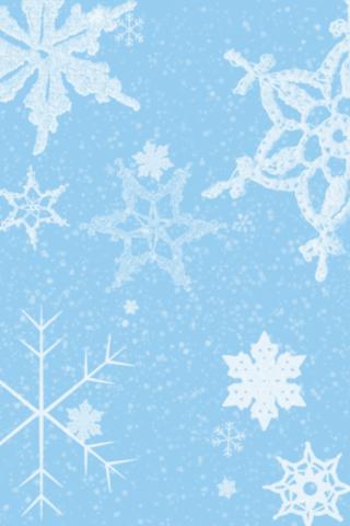 Snowflakes on iPhones