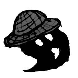 Black strawhat doppelgunner