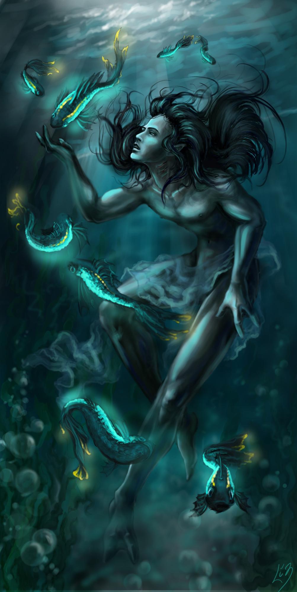 Under water by Liziel