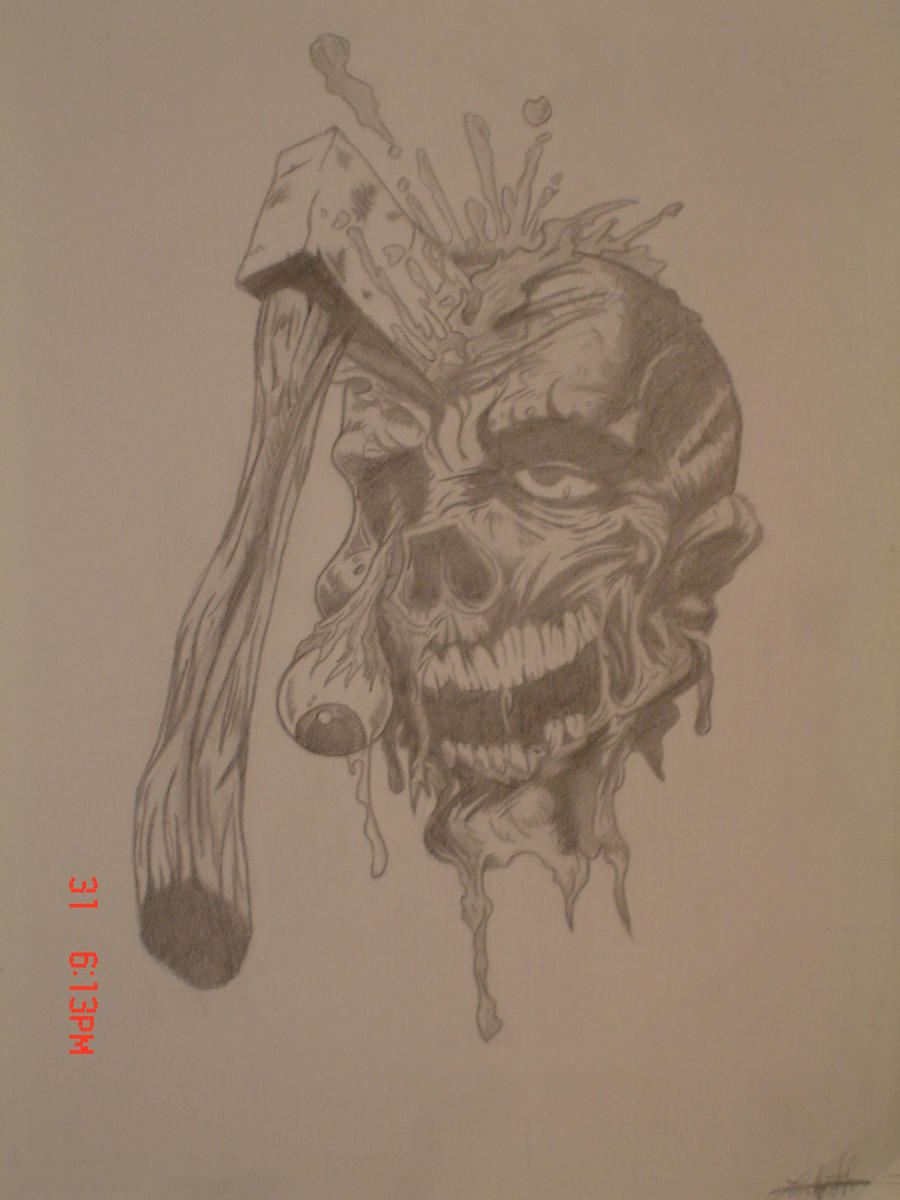 Decaying Zombie by decaymyfriend