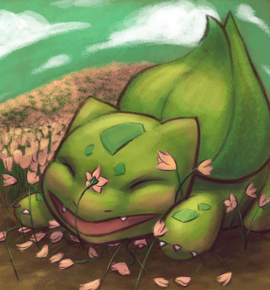 Bulbasaur by PadPanda