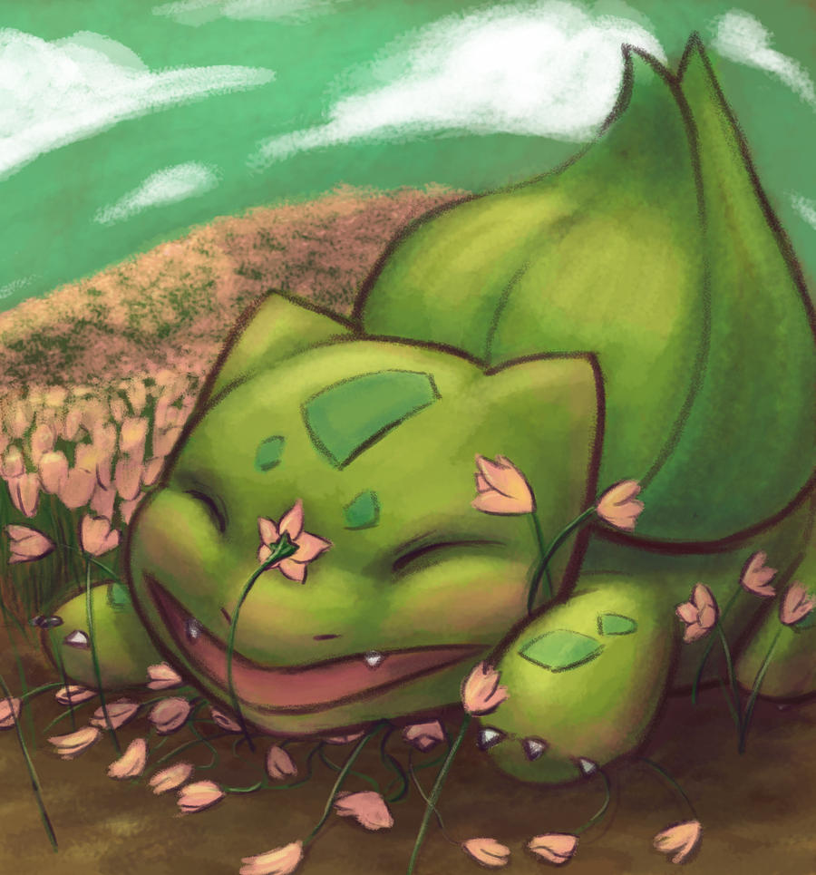 Bulbasaur by PadPanda