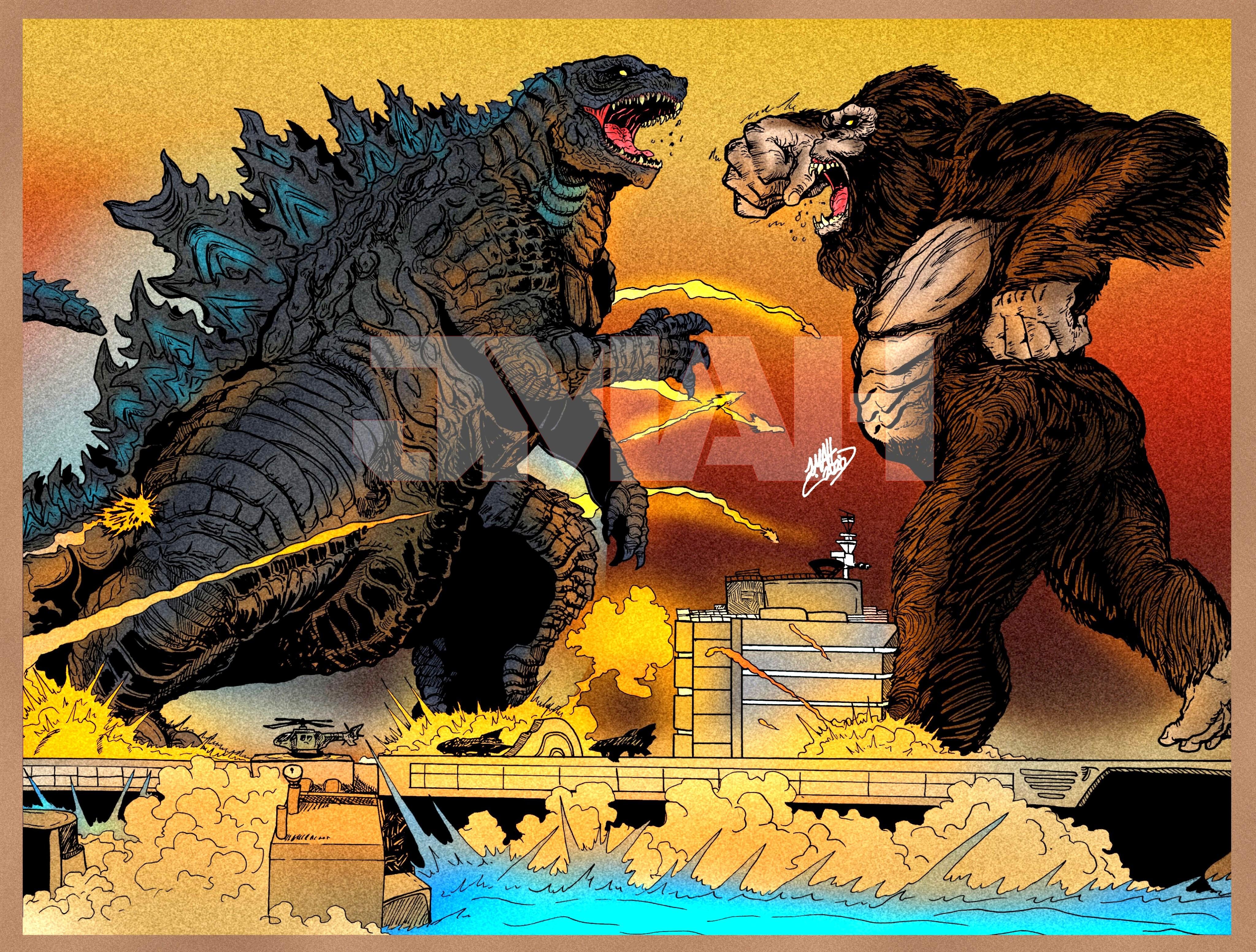 Godzilla Vs Kong 2021 By Jesszilla2000 On Deviantart