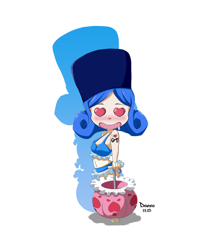 chibi juvia by ryzzdev on deviantart