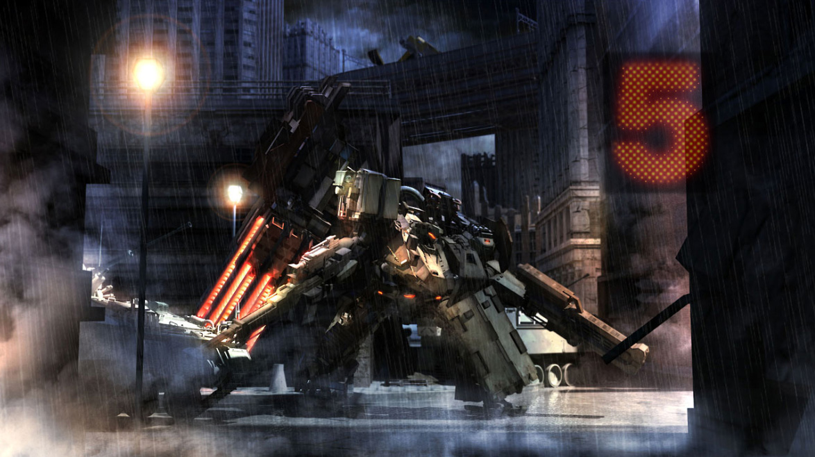 Armored Core 5 Wallpaper By Zybledryva On Deviantart