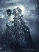 dark lady by mirandaarts