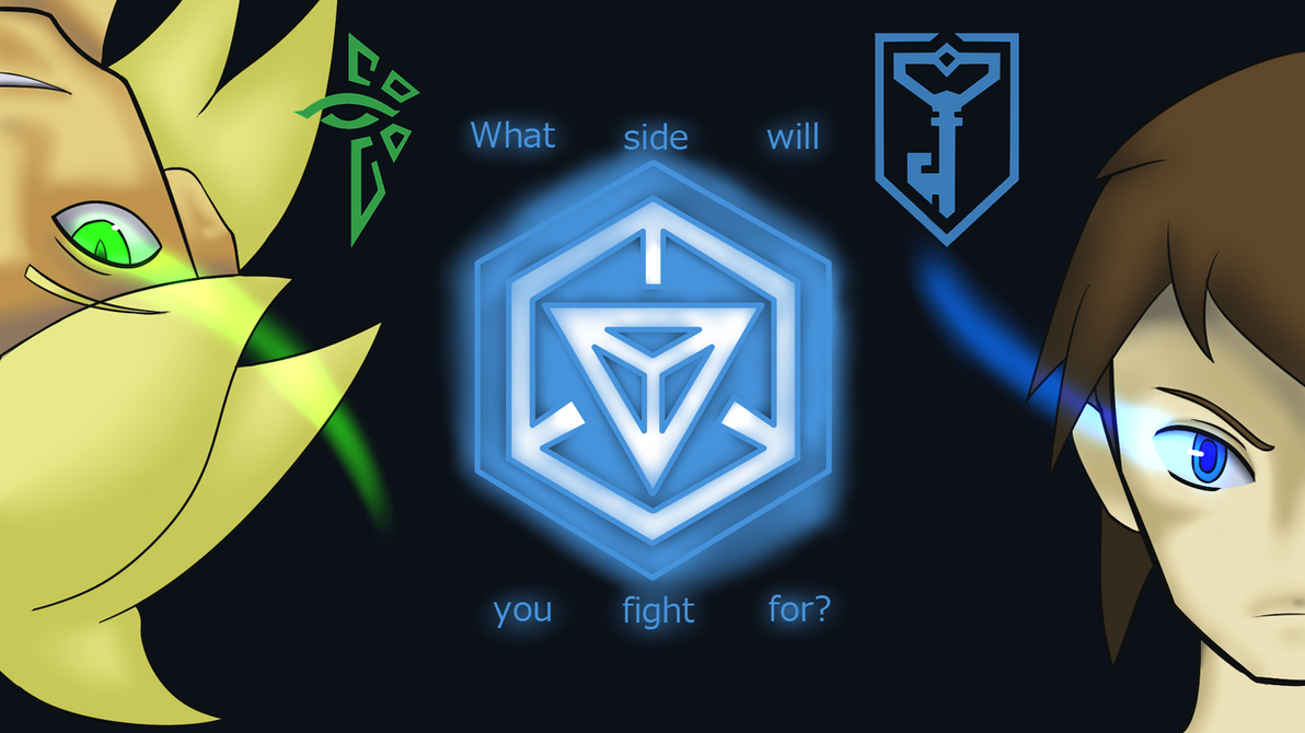 Ingress: Fight for the Resistance Wallpaper by sonicspeed123