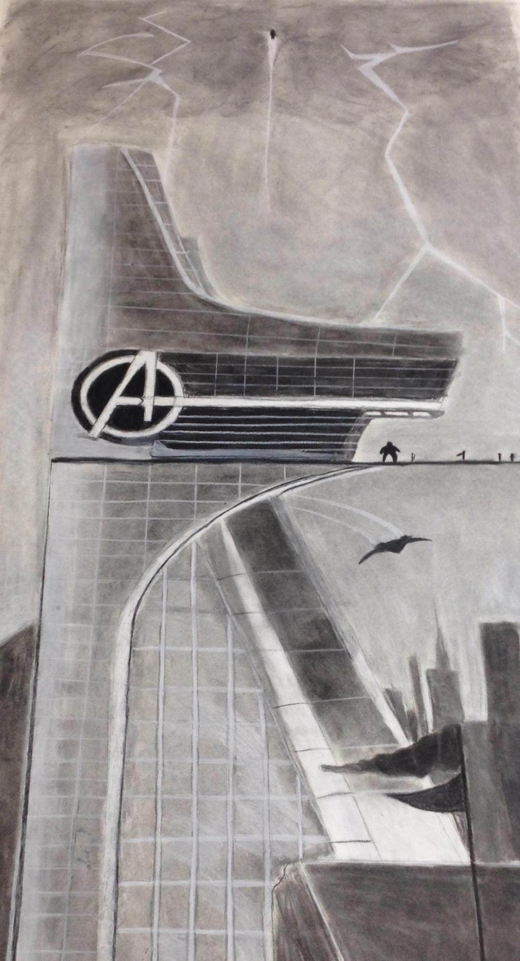 Avengers Tower By DarkMatterNat On DeviantArt