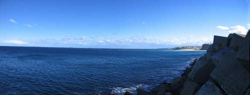 Panoramic Sea by w-o-l-d-o