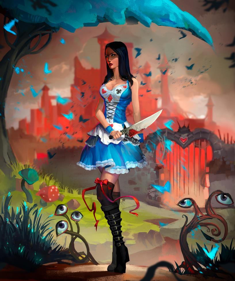 Alice By Leksotiger by Vladimir-Holstinin