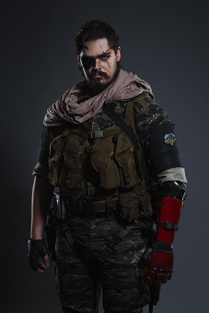 Venom Snake by SovietDOOMer