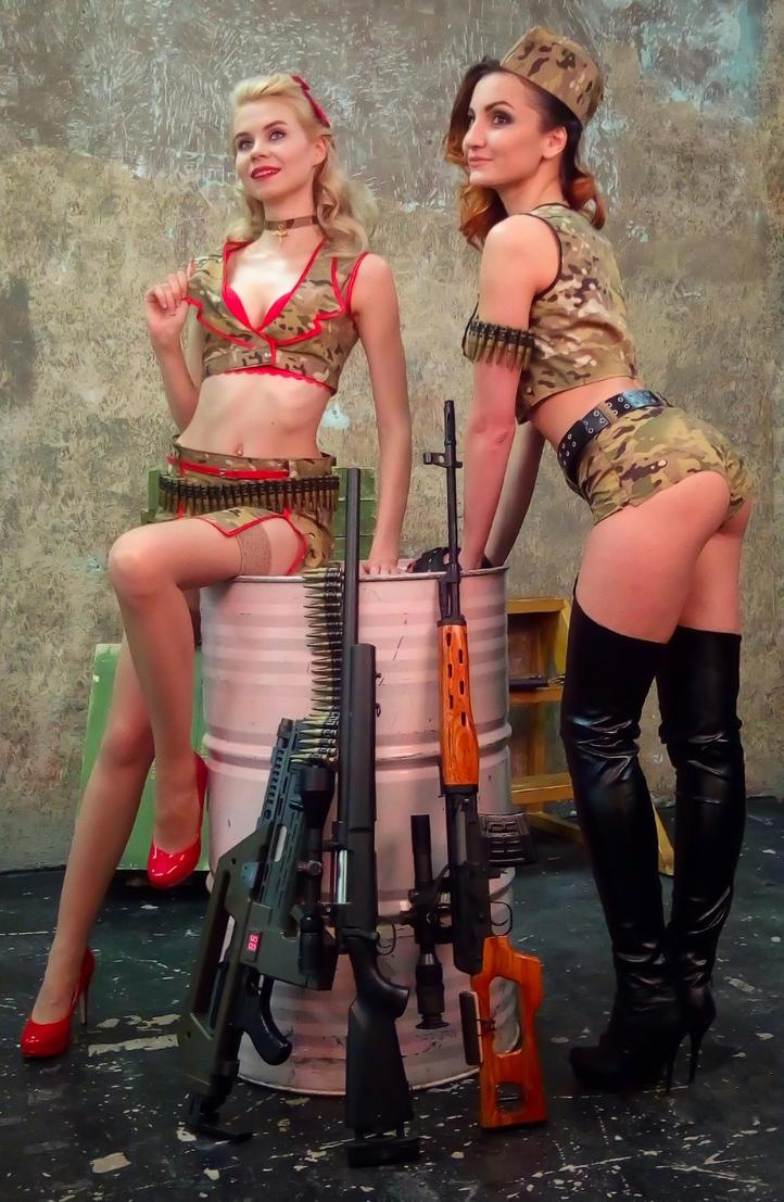 armed n dangerous backstage by SovietDOOMer