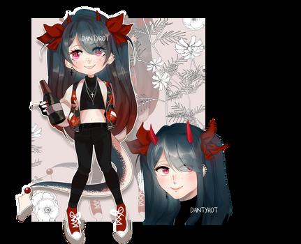 AUCTION demon girl [OPEN]