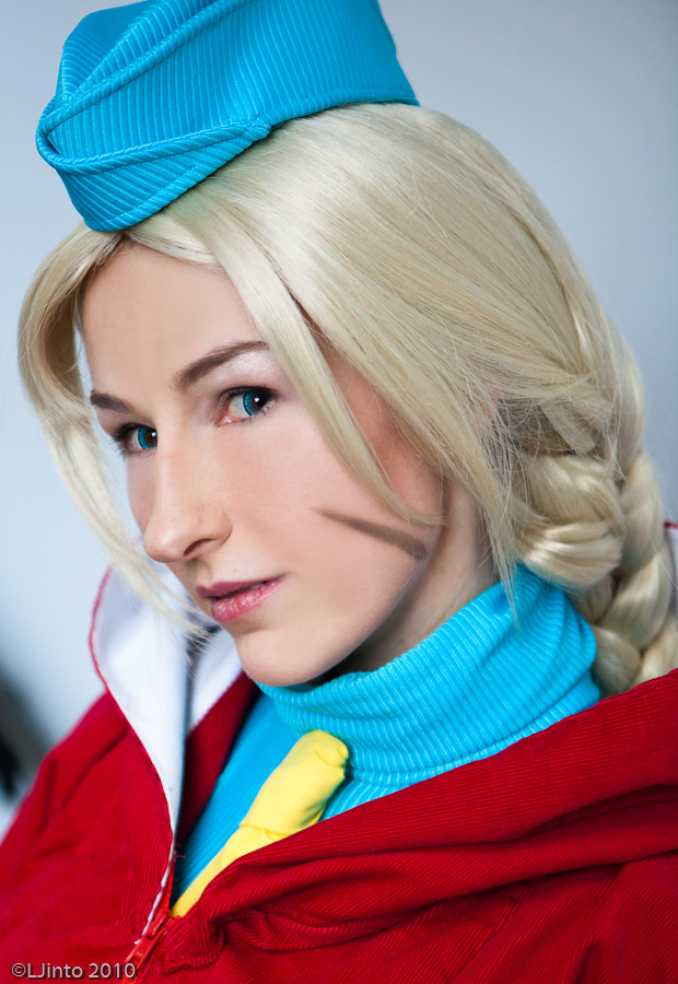 Cammy Close up by idleambition