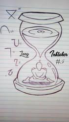 inktober number 5 Long by Bonezkd