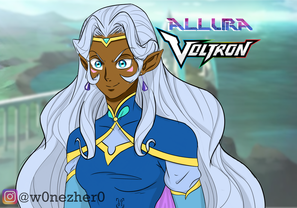 Allura colored by Bonezkd