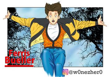 Ferris Bueller by Bonezkd