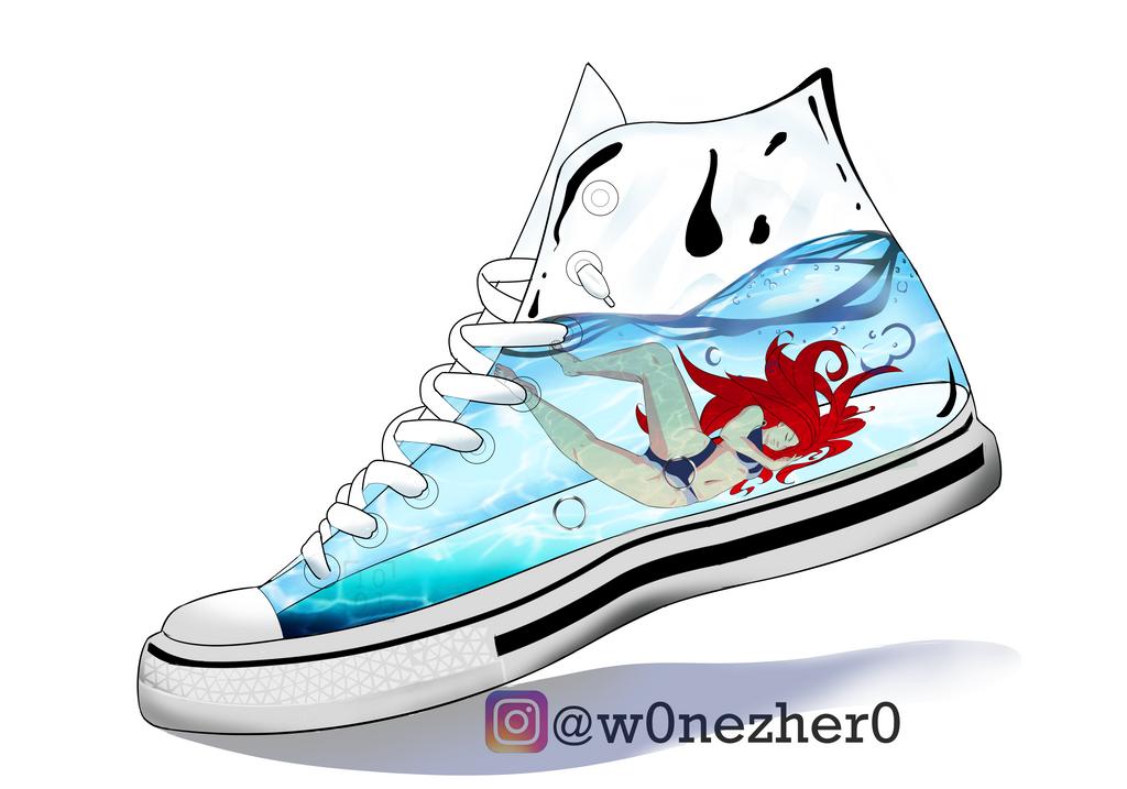 Converse Aqua by Bonezkd