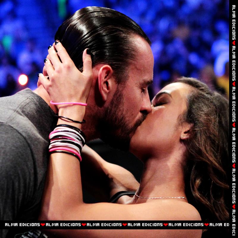 Aj lee kissing photos