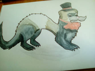 (at) dapper panda weasel by neotasict