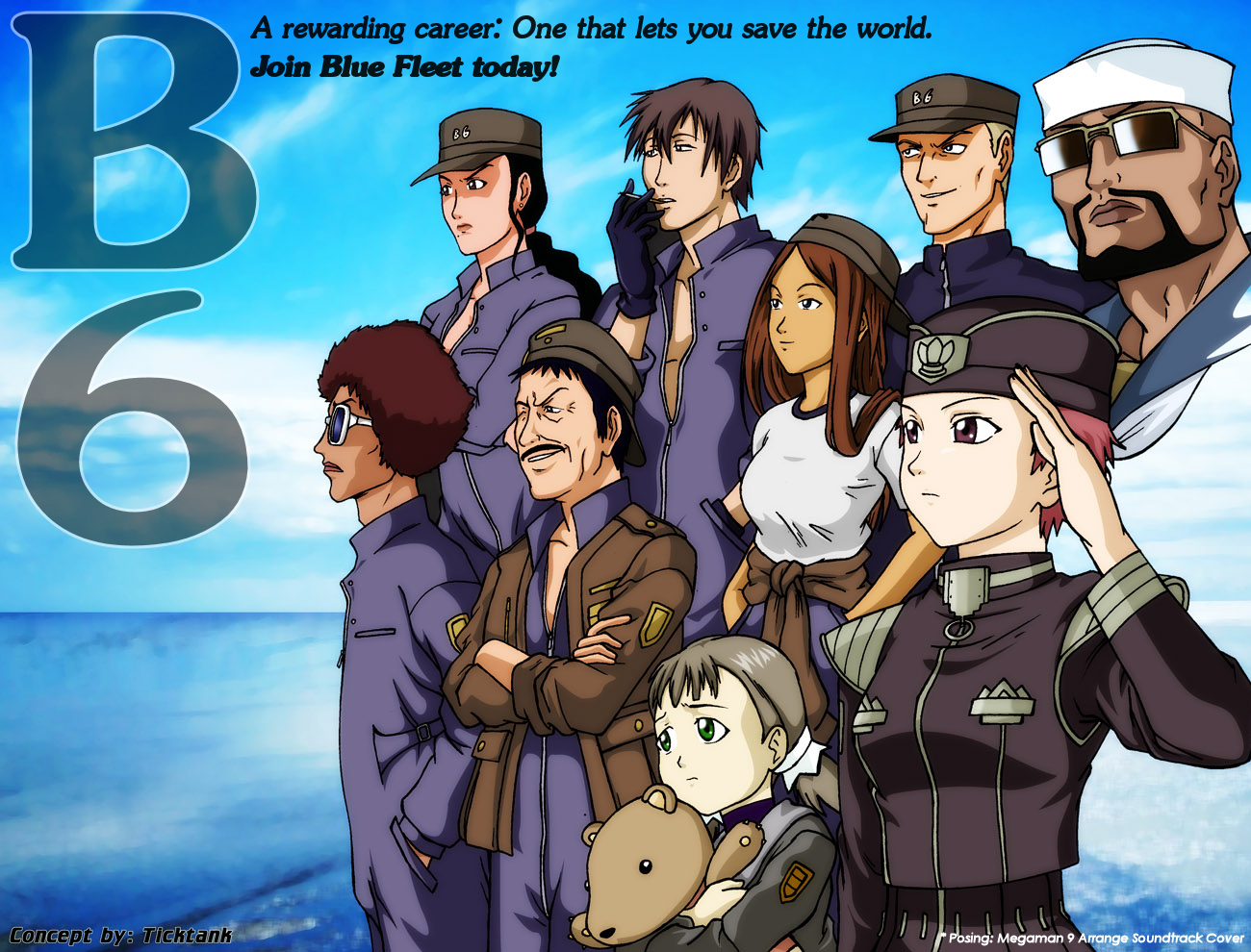 Blue submarine recruitment pos by bbmbbf on deviantart publicscrutiny Images
