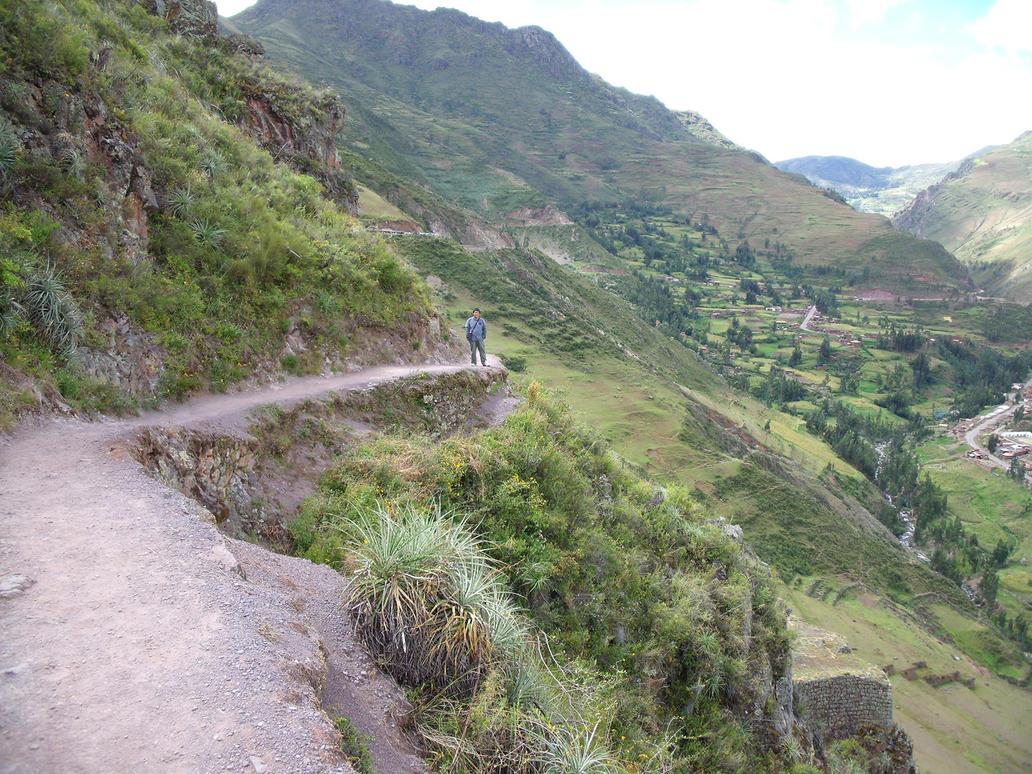 Camino Inca en Pisac by bbmbbf