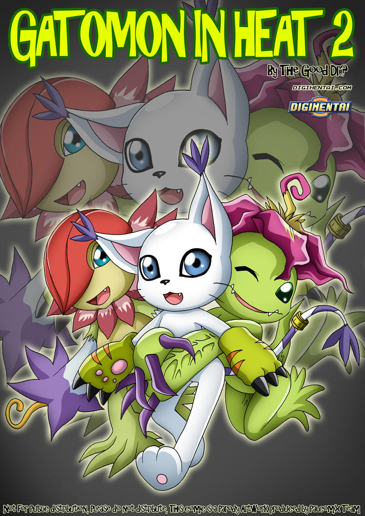 Gatomon in heat 2 - Cover by ~bbmbbf on deviantART