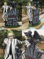 Beetlejuice - 14 inches figure by bbmbbf