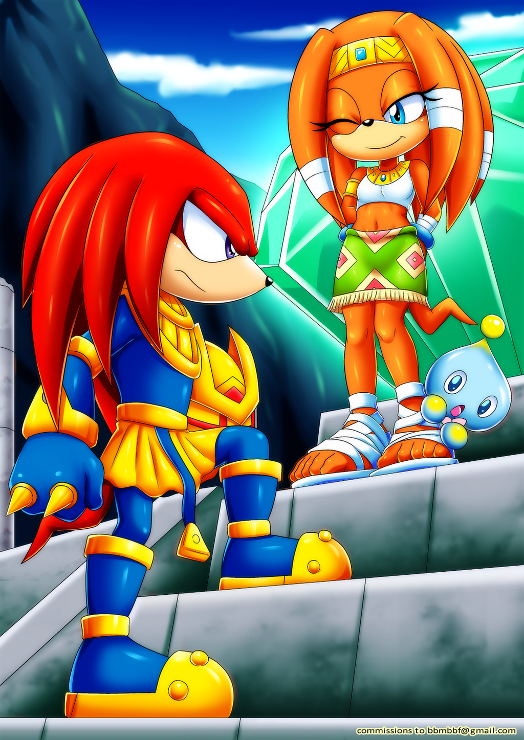 Enerjak and Tikal by bbmbbf