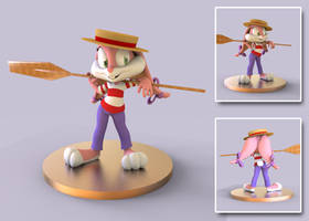 Babs Figure 2 - Concept by bbmbbf