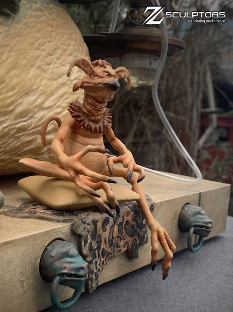 Salacious Crumb - 3d files available by bbmbbf