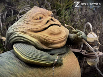 Jabba The Hutt - 3d files available by bbmbbf