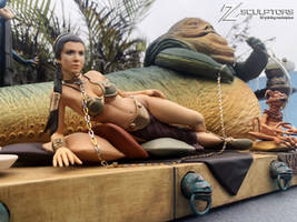 Slave Leia - 3d files available