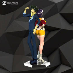Cowboy Bebop - 3d Printable STL files