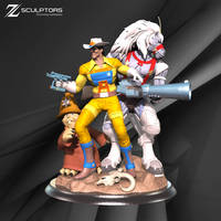 Bravestarr - STL 3d printing ready files