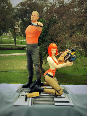 Fifth Element - Figure STL FILES AVAILABLE
