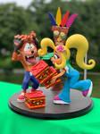 Crash Bandicoot Diorama