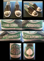 Band of Brothers Shoes by xxkenziex