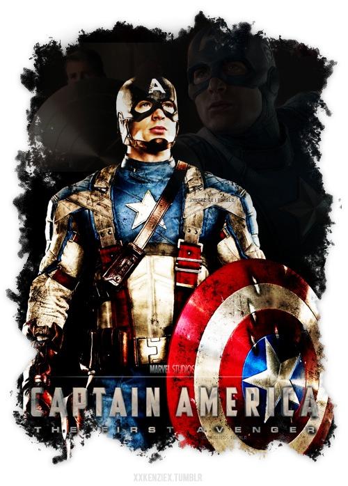 Captain America by xxkenziex