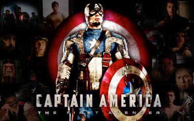 Captain America Wallpaper by xxkenziex