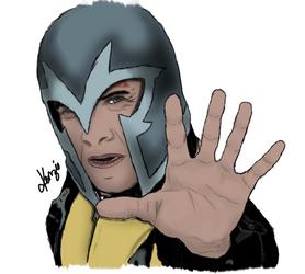 Erik Lensherr - Magneto by xxkenziex