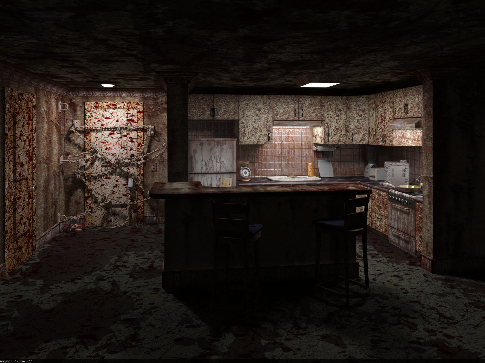 Silent Hill 4 Room 302 By Angelion1987 On Deviantart