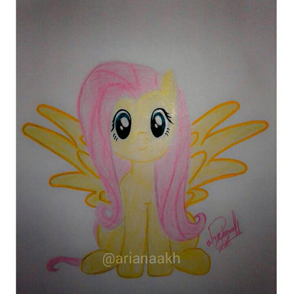 fluttershy by arianakh