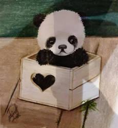 panda by arianakh