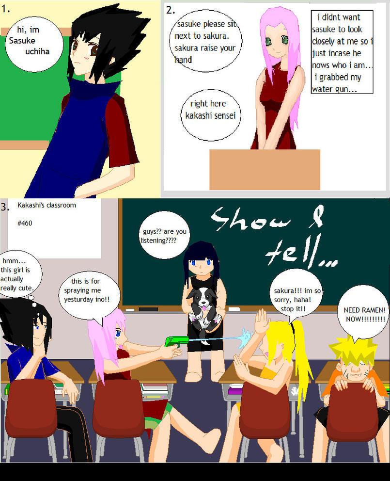 Haha Poor Naruto Is Ignored Again By Sakura: Sasusaku Doujinshi Page 2 By Sasusaku1213 On DeviantArt
